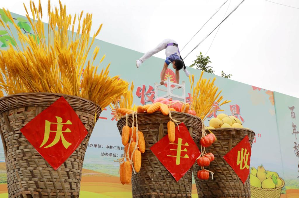 仁寿第四届农民丰收节开幕