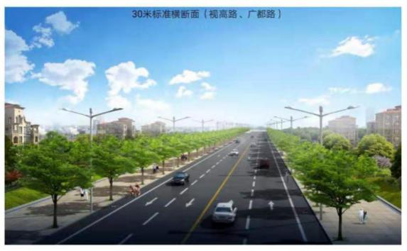 交通枢纽及中医院周边道路项目即将完工